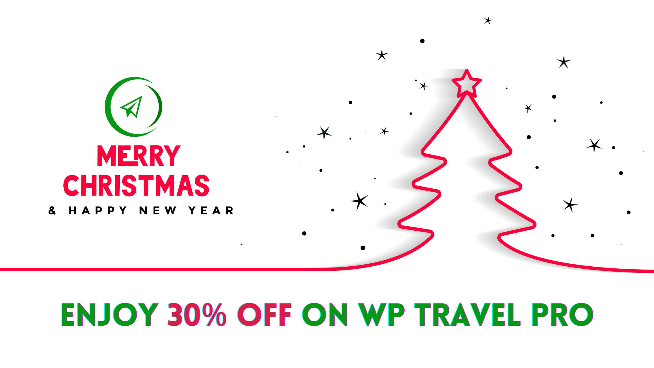 WordPress Deals 2021 - WP Travel 30% Off