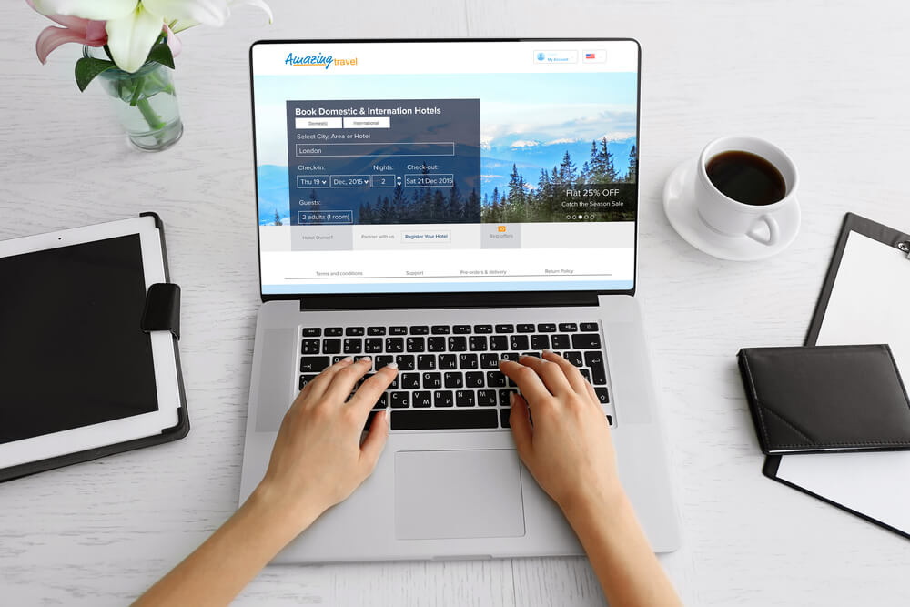 create a travel booking site with WordPress for free