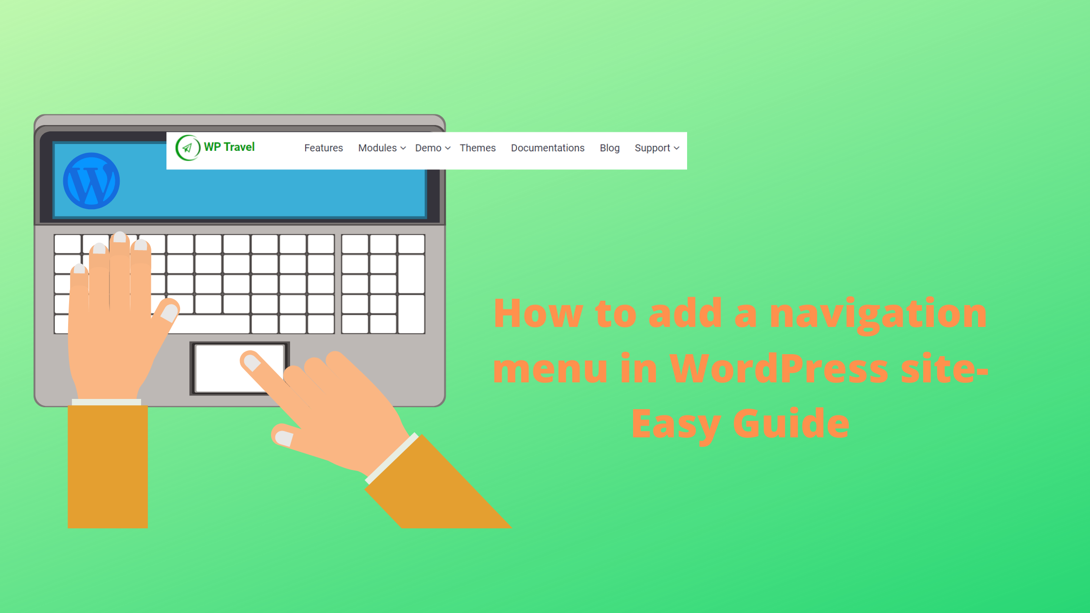 How to add a navigation menu in WordPress site- Easy Guide